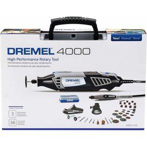 Micro-Retifica-4000-175W-c--36-Acessorios-220V---Dremel---F0134000NC---Dremel