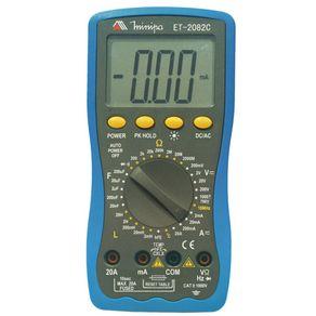 Multimetro-Digital-Cat-II-1000V-ET-2082B-ET-2082C---ET-2082B-ET-2082C---Minipa