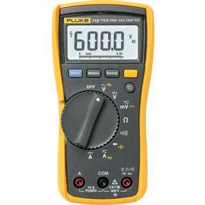 Multimetro-Digital-Cat-III-600V-115---FLUKE-115---FLUKE