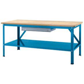 Bancada-Industrial-193x86x88cm-com-Prateleira--Azul---218A---Brusque