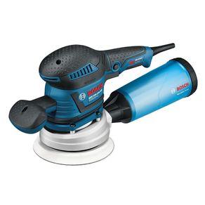 Lixadeira-Excentrica-400W-Reducao-de-Vibracao-e-Coletor-de-Po-GEX-125-150-AVE-Profissional-220V---Bosch---060137B1E0---Bosch