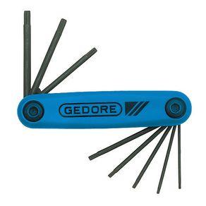 Jogo-de-Chave-Torx-com-Armacao-Tipo-Canivete--8-pecas---43-TX-SCL---80---Gedore