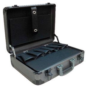 Maleta-para-Ferramentas-Profissional-Estrutura-de-Aluminio-Parede-ABS-Cinza---XL1142---TMX