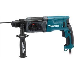 Martelete-Perfurador-Rompedor-800W-HR2470-Industrial-110V---Makita---HR-2470-110V---Makita