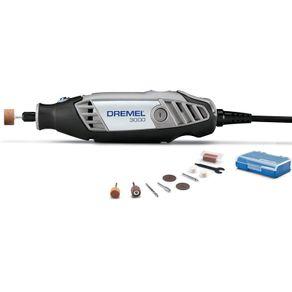 Micro-Retifica-3000-com-10-Acessorios-110V---Dremel---F0133000PB---Dremel