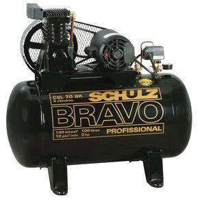 Compressor-Ar-Bravo-CSL-10BR-100L-140lbs-2CV-Monofasico-110-220V---9217852-0---Schulz