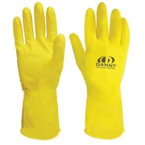 Luva-Latex-Anti-Derrapante-Confort-P-Amarela-com-Forro---DA-299-AMARPEQ---Danny
