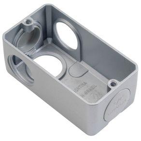 Condulete-de-Aluminio-com-Rosca-com-Tampa-Cega-LL3-4-NPT-AR-15LL-22---Alpha---AR-15LL-22---Alpha