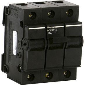 Disjuntor-Tripolar-NEMA-DQ3-PRT-10A---C-5KA-220V-Preto---DQ3010---Eletromar