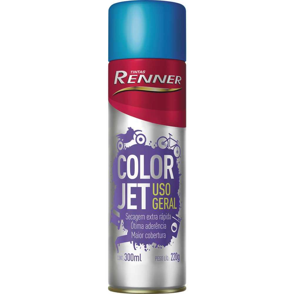 Color - Jet Spray 300ml Esmalte Sintético - Renner Azul Oceano