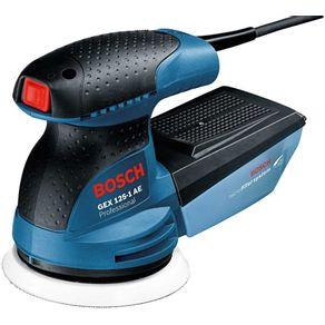 Lixadeira-Excentrica-250W-com-Coletor-de-Po-GEX-125-1-AE-Profissional-110V---Bosch---06013875D0---Bosch