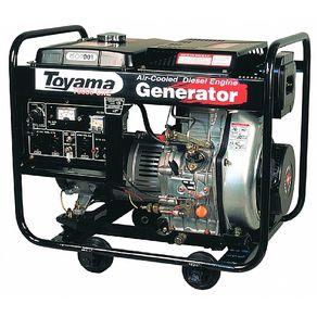 Gerador-Gasolina-55KVA-TD6000CXE--Partida-Eletrica-Bivolt---Toyama----TD6000CXE---Toyama