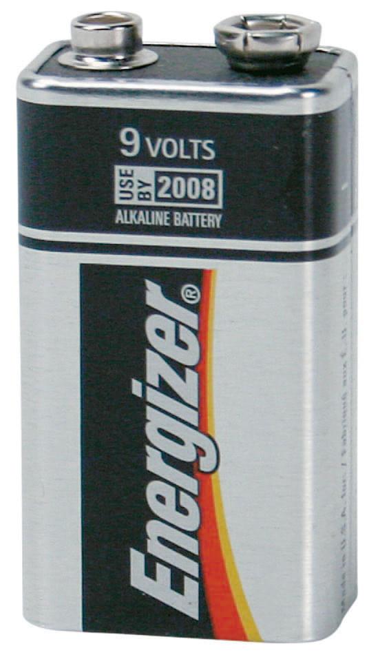 Bateria Alcalina 9,0V com 1 Unidade - Energizer