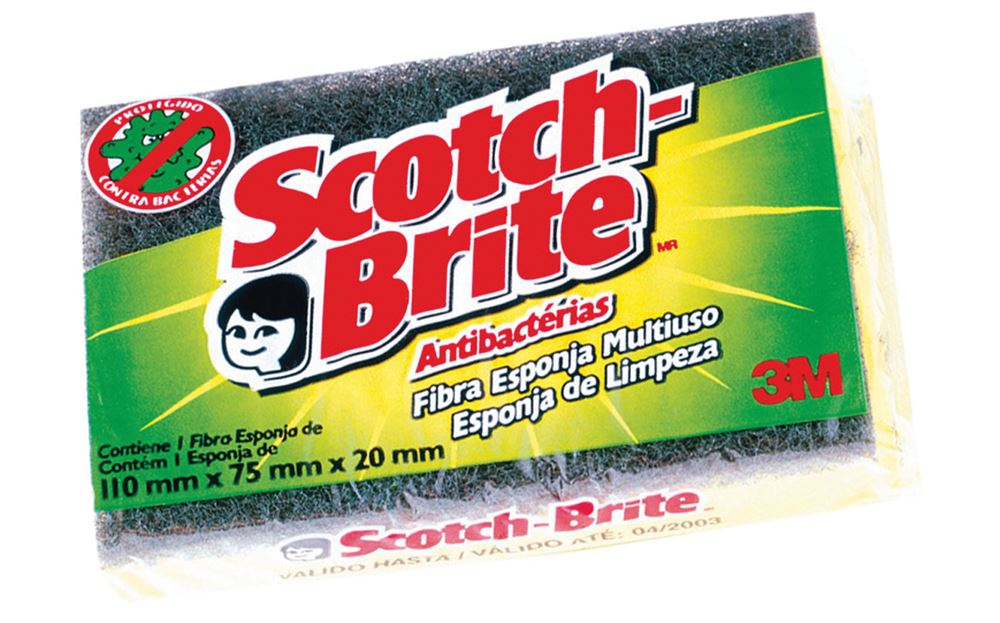 Esponja Dupla - Face Scotch Brite 75x110x45mm