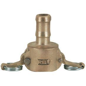 Engate-Rapido-com-Alavanca-CM-050-Bronze-com-Espiga-para-Mangueira-2---CM-050-BZ---Funguap