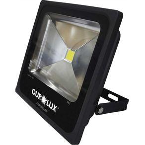 Projetor-Led-10W-Bivolt-Preto-6500K-Ourolux---03261---Ourolux