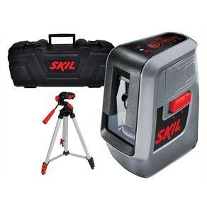 Nivel-Laser-3-Linhas-10m-com-Tripe-e-Maleta-F0150516BC---Skil---F0150516BC---Skil