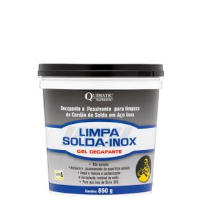 LIMPA-SOLDA-INOX-QUIMATIC-Gel-Decapante---LS1-850g---Tapmatic---LS1---Quimatic-Tapmatic