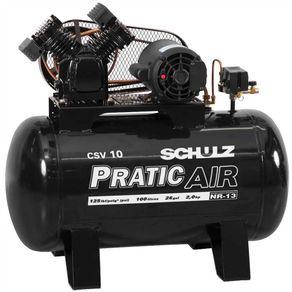Compressor de Ar Elétrico Schulz Csv10/100 220v