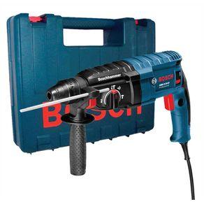 Martelete-Perfurador-Rompedor-800W-GBH-2-24-D-Profissional-220V---Bosch---06112A02E0---Bosch