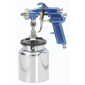 Pistola-para-Pintura-Succao-Modelo-02-com-Caneca-de-Aluminio---10104000---Arprex
