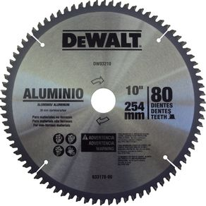 Lamina-Serra-Circular-254x30mm-80-Dentes-para-Aluminio---Dewalt---DW03210---Dewalt