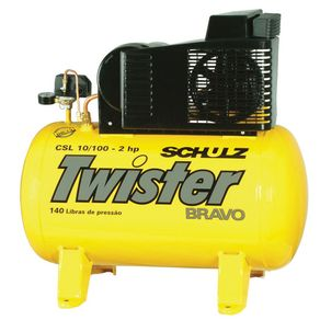 Compressor-Ar-Twister-CSL-10-100L-140lbs-2CV-Trifasico-220-380V---9217721-0---Schulz