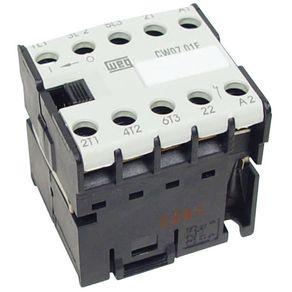 Contator-Tripolar-CWC-16A-380V-60HZ-1NA---Weg---10047049---Weg