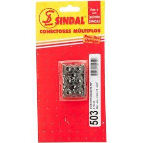 Conector-Barra-16mm-com-3-Bornes-Preto---Sindal---503-S---Sindal