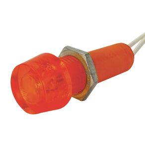 Sinaleiro-Olho-de-Boi-12V-10mm-Vermelho-10mm-DP-14---Sadokin---DP-14--12V-VRM---Sadokin