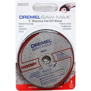 Disco-de-Corte-Saw-Max-p--Alvenaria-2615S520NC---2615S520NC---Dremel