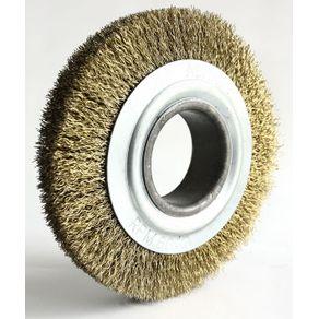 Escova-Circular-Latonada-150x13mm-Fio-040mm-6000Rpm---Abrasfer---T7000-150X13---Abrasfer