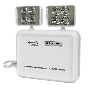Luminaria-Emergencia-2x24Leds-2200-Lumens-Bivolt---Segurimax---24080---Segurimax