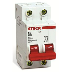 Disjuntor-Bipolar-20A---C-3KA-220V-Branco---Steck---SDD62C20---Steck