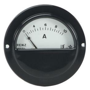 Amperimetro-Leitura-Direta-RED-55mm-0-10A-Renz---RP-55-10A---Renz