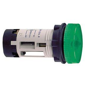 Sinaleiro-Olho-de-Boi-10mm-12V-Verde-DP-14---Sadokin---DP-14--12V-VRD---Sadokin