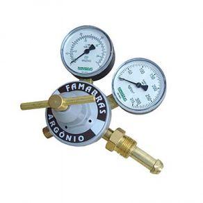 Regulador-para-Argonio-Simples-Estagio-com-vazao-de-40--L-min----FRAG-130---Famabras