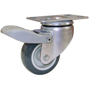 Rodizio-Giratorio-Serie-Industrial-Leve-com-Freio-e-com-Placa-Resina-Termoplastica-2-45Kg---GL-210BPF-FR---Novex