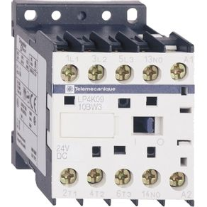 Contator-Tripolar-LP4K-90A--24VCC-1NF---LP4K0910BW3---Schneider