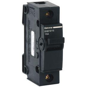 Disjuntor-Unipolar-NEMA-15A---C-2KA-220V-Preto---DQ1015---Eletromar