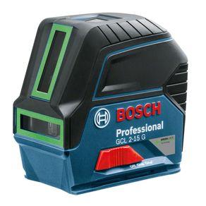 Nivel-Laser-2-Linhas-Verde-GCL2-15G-com-Suporte-BM3-e-Maleta---Bosch---0601066J00---Bosch