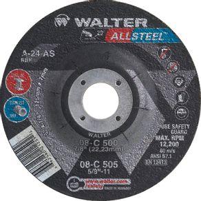 Disco-de-Desbaste-para-Aco-Allsteel-1143x64x22mm-08-C-450---Walter---08-C-450---Walter