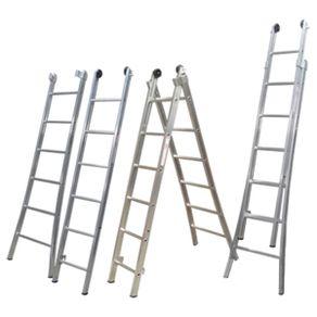 Escada-de-Aluminio-Extensivel--3-em-1--2-Lados-16-Degraus--270x450m---ED-108---Alulev