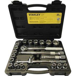 Jogo-de-Soquetes-1-2-8-32mm-com-22-pecas-STNT81242-840---Stanley---STMT81242-840---Stanley