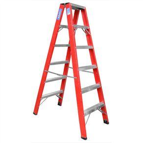 Escada-com-Degrau-de-Aluminio-210m-118Kg---Alulev---FP107---Alulev