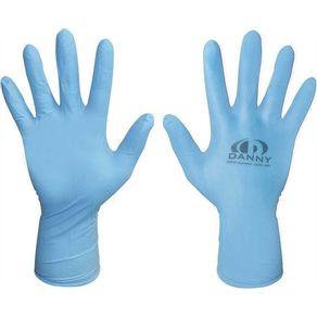 Luva-Nitrilica-Sensiflex-Cor-Azul-P---Danny---DA-90112AZ-P---Danny