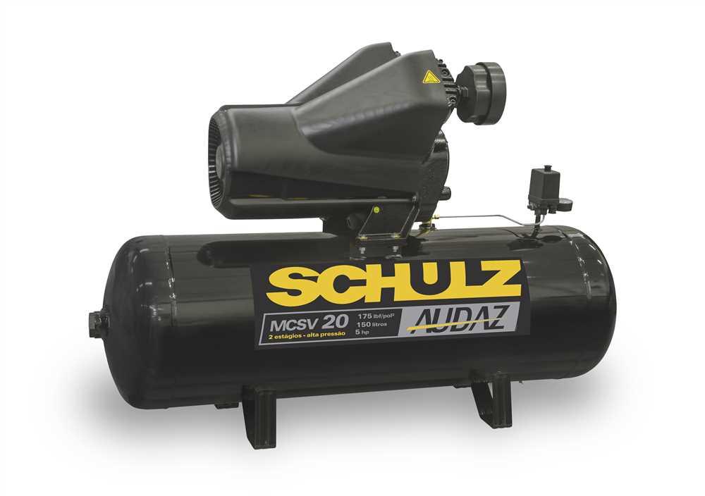 compressor de ar audaz schulz - ferramentas gerais - fg