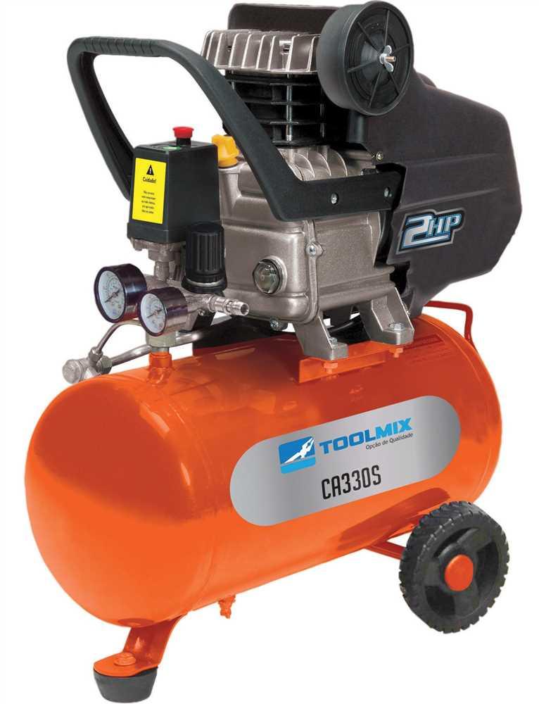 compressor de ar 2hp toolmix - ferramentas gerais - fg