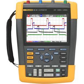 Osciloscopio-Digital-Portatil-190-104-4-Canais-com-USB-100MHZ---Fluke---190-104---Fluke