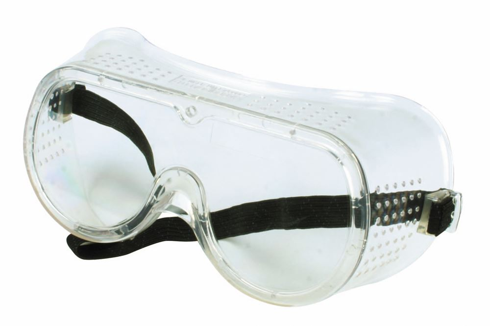 76528d3e9eecb Óculos Panorâmico Ampla Visão com Lente Incolor Elástico e Ventilação Direta